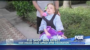 A Flu Shot Is Blamed For Paralyzing This 12-Year-Old Girl