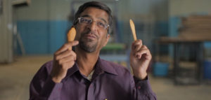 How Hungry Would You Have To Be To Eat Your Fork? New Edible Cutlery Could Well Eliminate The Need For The Plastic Kind