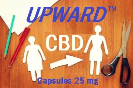 Weight Loss Math, Up Close and Personal: 7 weeks x 2 CBD caps per day =-16 lbs / 0 effort