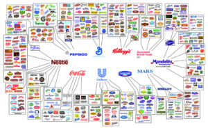 Grim Truth About Food Monopolies: Ten Companies Own A Frightening Number Of Food And Beverage Brands