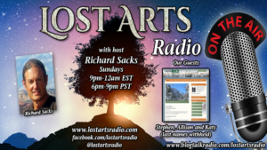 Lost Arts Radio Show #82 – Special Guests Barrie Trower and the Brave Baldy Team