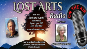 Lost Arts Radio Show #44 – Clifford Carnicom and Kate Willens