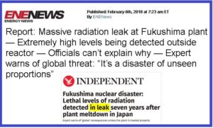Warning from Japan: Fukushima Risk Continues