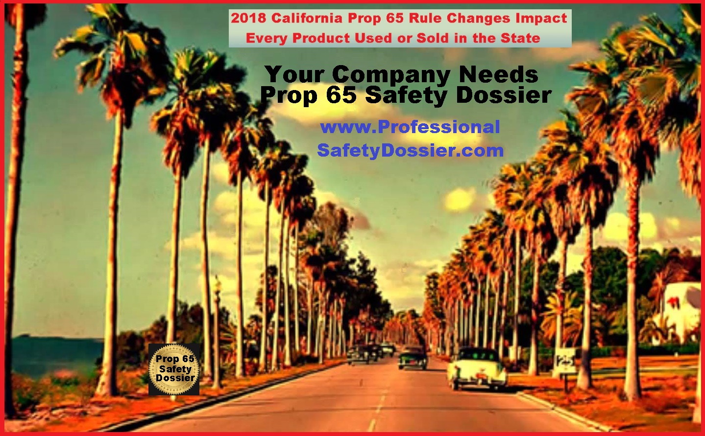 Proposition 65: California Ratchets Up Cancer/Repro Harm Warning Rules
