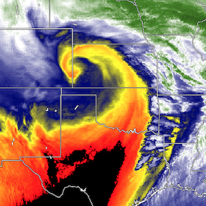 "Manufacturing Winter Weather, Engineering A ""Bombogenesis"" Cyclone"