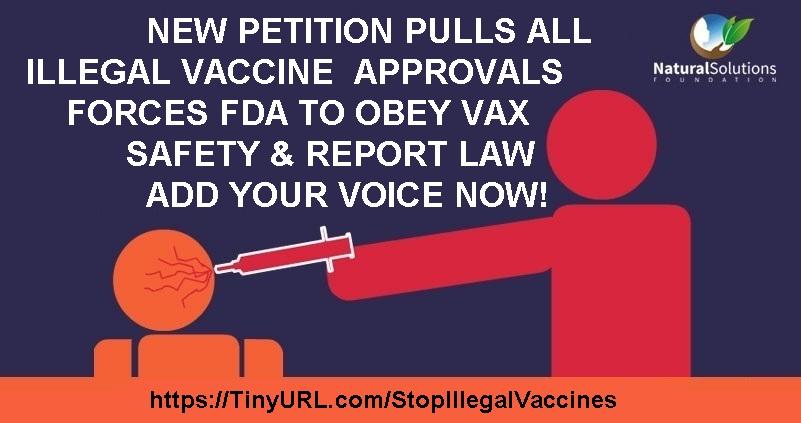FDA: PULL ALL VAXX APPROVALS!