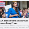 Congresswoman Slams Pharma Exec