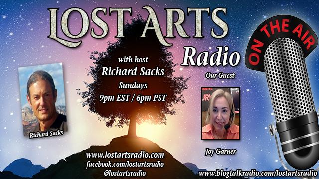 Lost Arts Radio Show #318 – Special Guest Joy Garner
