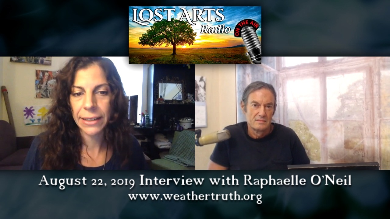 A World Of Hot Water — And Chemtrails. Our Discussion With Raphaelle O'Neil (aka NOLA Butterfly)