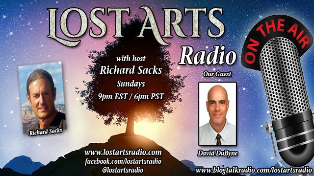Lost Arts Radio Show #264 – Special Guest David DuByne