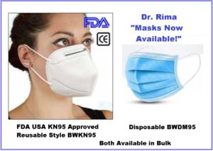 "URGENT! Dr Rima ""Masks Available Now!"""