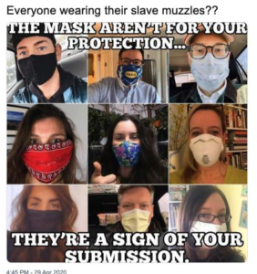 If You Don't Wear a Mask Are You Selfish?