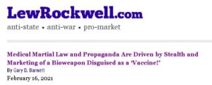 Propaganda and the COVID Big Lie