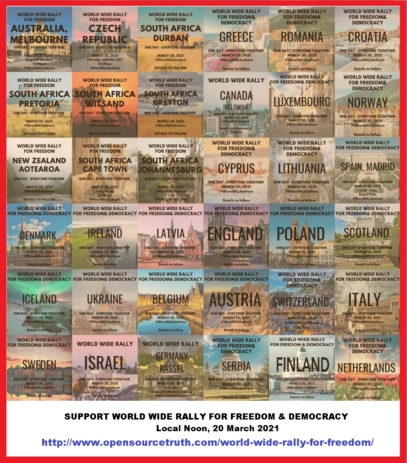 World Wide Rally for Freedom