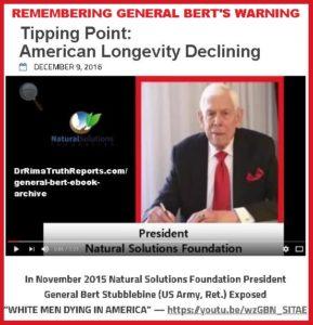 Remembering General Bert's Tipping Point Warnings