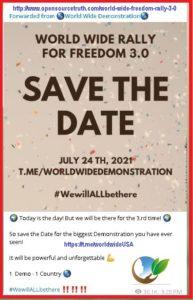 World Wide Freedom Rally 3.0