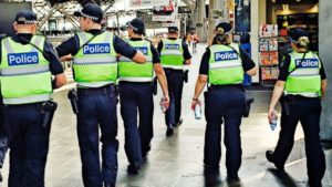 An Australian Police Officer Almost Shows Himself to be Human