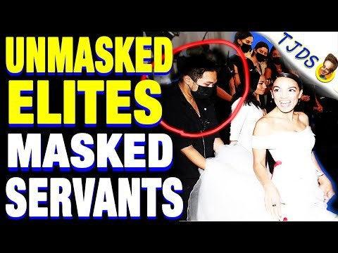 Unmasked Elites Served By Masked Servant Class w/Glenn Greenwald