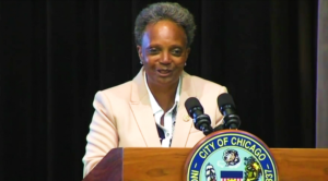Chicago Police Union Head Urges Cops to Defy Lightfoot's Vax Mandate